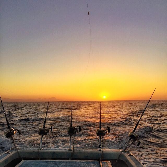 Fishing before #sunrise