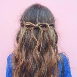 cute girl hair hairstyle hairtie