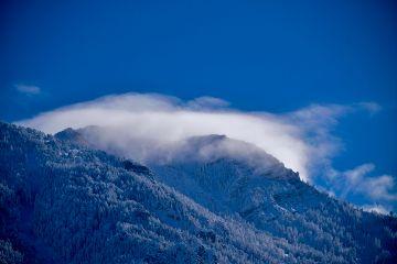 nature landscape mountains snow winter freetoedit